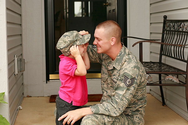 """Military Divorce: Returning Service Members and  the """"Home Front"""""""