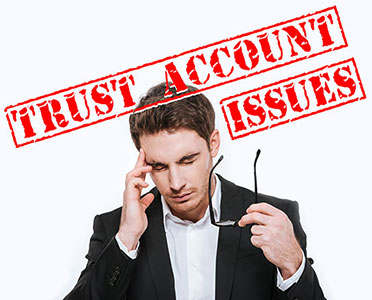 Lawyer with Trust Account Issues