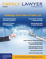 Family Lawyer Magazine Fall 2019 issue