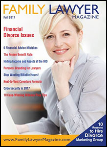 Family Lawyer Magazine's Fall 2017 Issue